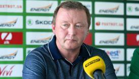 Володимир Шаран: «Вірю, що в наступному сезоні ми зустрінемося знову»