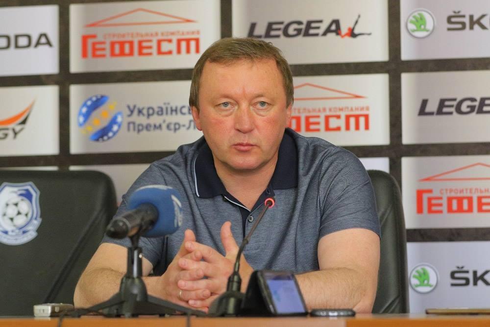 Післяматчева прес-конференція Володимира Шарана