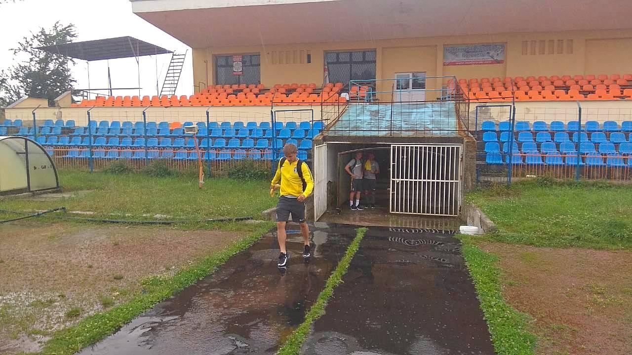 Спаринг ПФК «Локомотив» – ФК «Олександрія» скасовано через зливу