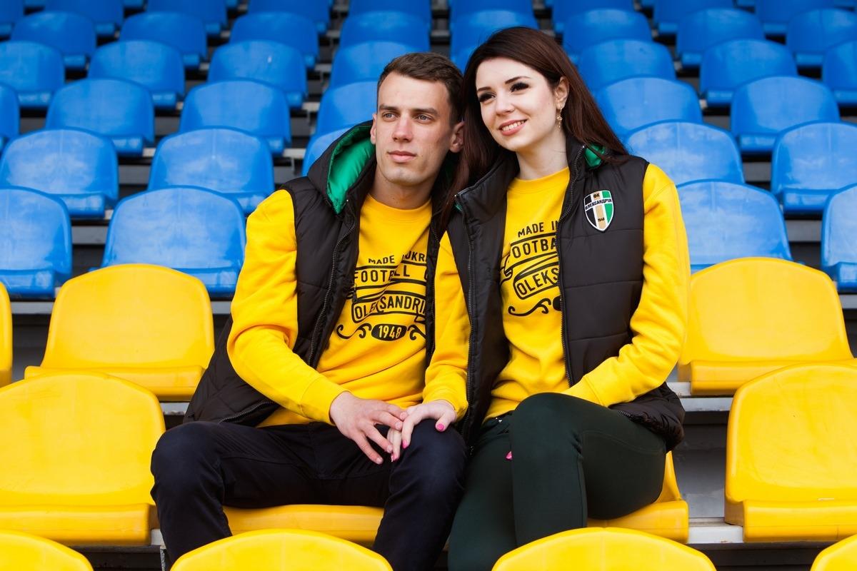 Теплий одяг від ФК «Олександрія»