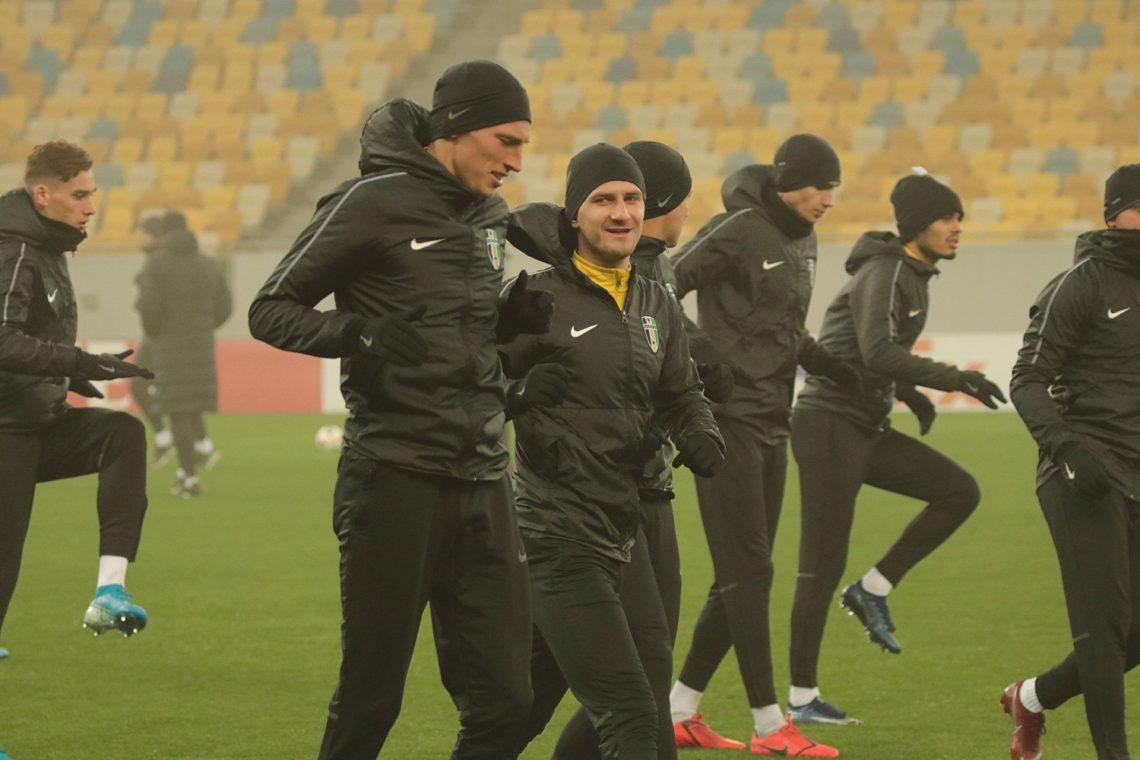 ЛЄ: Відкрите тренування ФК «Олександрія». Фоторепортаж