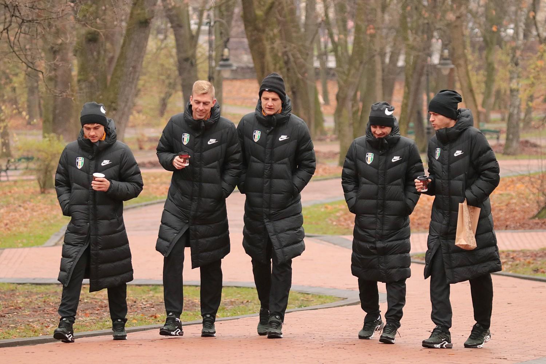 Ранкова прогулянка  футболістів ФК «Олександрія»