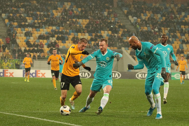 ЛЄ: «Олександрія» — «Вольфсбург» 0:1. ФОТОРЕПОРТАЖ
