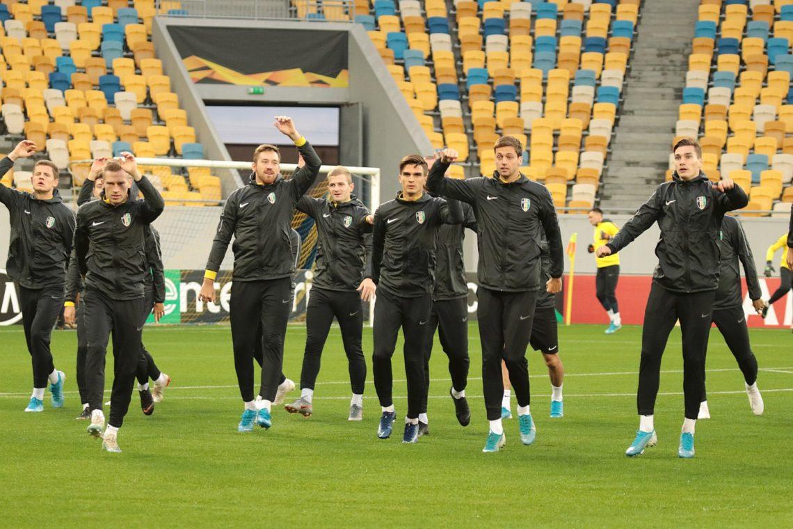 ЛЄ: Відкрите тренування ФК «Олександрія». Фотозвіт