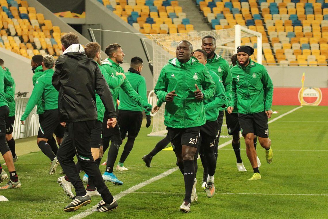 ЛЄ: Футболісти «Сент-Етьєна» провели відкрите тренування. Фотозвіт