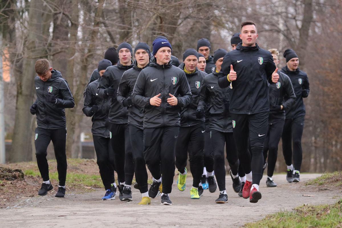 U 21: Тренування перед матчем