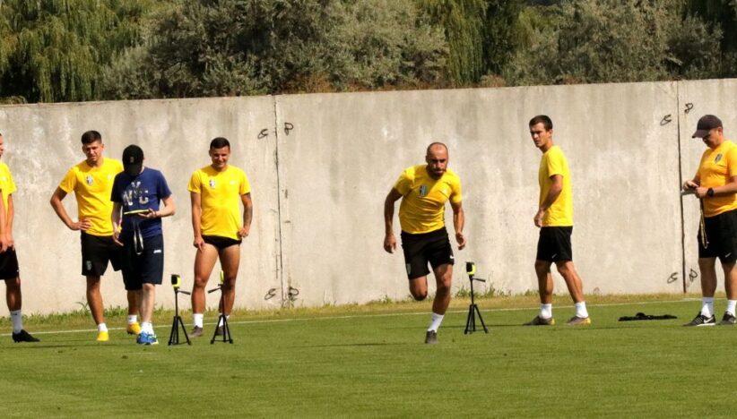 Футболісти «Олександрії» провели тестування. Фоторепортаж