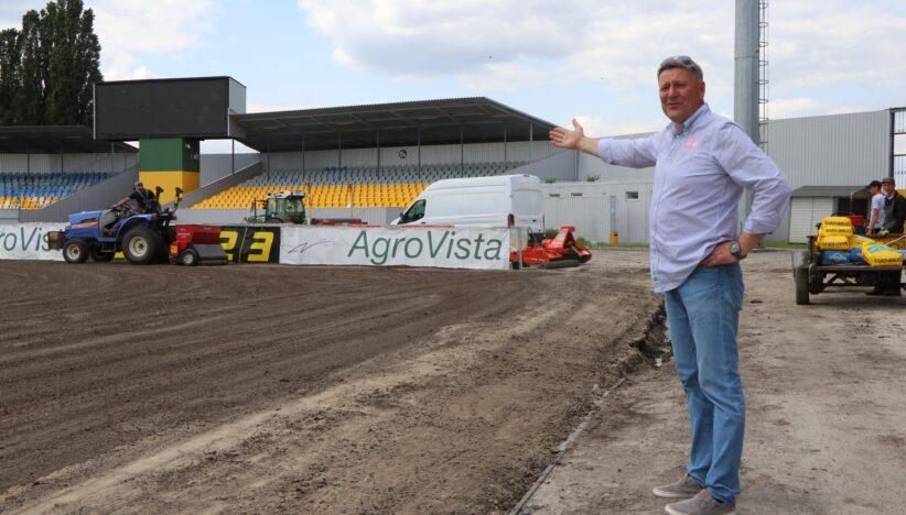 Олександр Сакара: Новий газон— інвестиція в розвиток клубу
