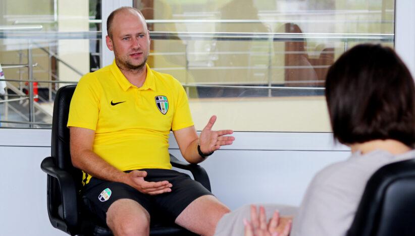 Олександр Карпов: «Напередодні матчу з «Зорею» точно не буду спати…»