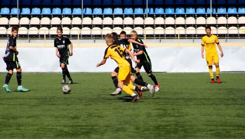 Турнірні таблиці першості Кіровоградської області з футболу серед дитячо-юнацьких команд